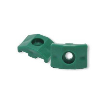 clips grillage rigide vert